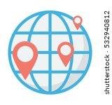 gps vector icon | Shutterstock .eps vector #532940812