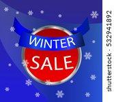 winter sale icon.icon winter... | Shutterstock .eps vector #532941892