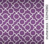 Light Violet Geometric Seamles...