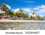 santiago de cuba  cuba  ... | Shutterstock . vector #53294407