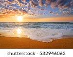 early morning   sunrise over... | Shutterstock . vector #532946062