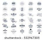 big christmas bundle  ... | Shutterstock . vector #532967305