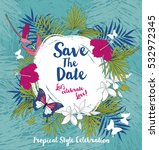 anniversary banner with... | Shutterstock .eps vector #532972345