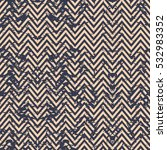 blue and beige classic chevron  ... | Shutterstock .eps vector #532983352