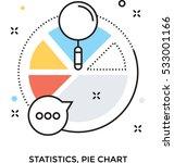 pie chart vector icon | Shutterstock .eps vector #533001166
