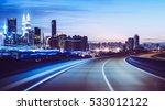 moving forward motion blur... | Shutterstock . vector #533012122
