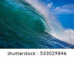 ocean wave. | Shutterstock . vector #533029846