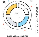 data visualization vector icon | Shutterstock .eps vector #533030716