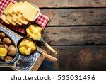 delicious traditional swiss... | Shutterstock . vector #533031496