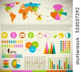 business element set with... | Shutterstock .eps vector #533037292