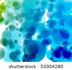 bubble background - stock photo