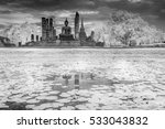 the black and white infrared... | Shutterstock . vector #533043832