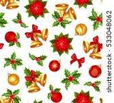vector seamless pattern with... | Shutterstock .eps vector #533048062