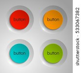 web round button for website or ... | Shutterstock .eps vector #533067382