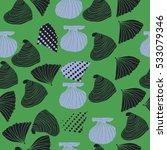 seamless sea pattern  halftone .... | Shutterstock . vector #533079346
