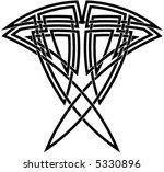 celtic knot  59 | Shutterstock .eps vector #5330896