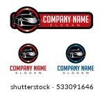 shiny car logo   Shutterstock .eps vector #533091646