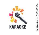 karaoke logo  vector | Shutterstock .eps vector #533108386