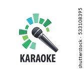 karaoke logo  vector | Shutterstock .eps vector #533108395
