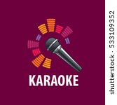 karaoke logo vector | Shutterstock .eps vector #533109352