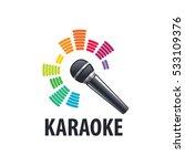 karaoke logo vector | Shutterstock .eps vector #533109376