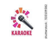 karaoke logo vector | Shutterstock .eps vector #533109382