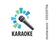karaoke logo  vector | Shutterstock .eps vector #533109706