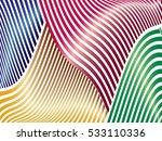 oblique  diagonal lines pattern. | Shutterstock .eps vector #533110336