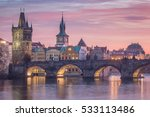 Prague   Charles Bridge Sunset