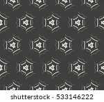 geometric shape abstract vector ... | Shutterstock .eps vector #533146222