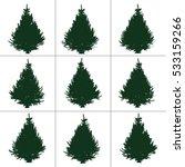 spruce | Shutterstock .eps vector #533159266