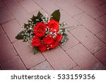 Beautiful Bouquet Of Red Rose...
