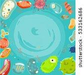 virus wallpaper   vector...   Shutterstock .eps vector #533162686