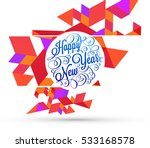 christmas design and elements... | Shutterstock .eps vector #533168578