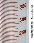 Science graduated cylinder - stock photo