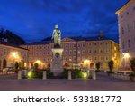 Mozart Statue In Mozartplatz ...