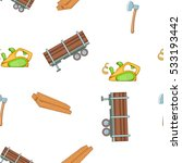 timber elements pattern.... | Shutterstock .eps vector #533193442