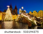 Christmas Old Town Square In...