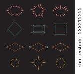 frames logo template collection.... | Shutterstock .eps vector #533215255
