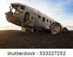 Crashed Plane In Iceland