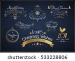 christmas vector design... | Shutterstock .eps vector #533228806