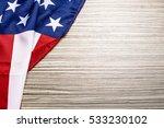 american flag background | Shutterstock . vector #533230102