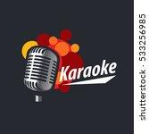 vector logo karaoke | Shutterstock .eps vector #533256985