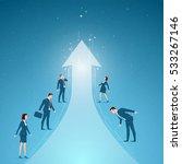 business concept vector... | Shutterstock .eps vector #533267146