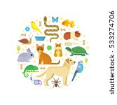 vector colorful collection of... | Shutterstock .eps vector #533274706