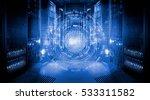 futuristic tech scheme on... | Shutterstock . vector #533311582