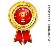 best company of the year 2016   ... | Shutterstock .eps vector #533315296