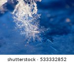 snowflakes. snow crystals.    Shutterstock . vector #533332852