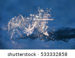 snowflakes. snow crystals....   Shutterstock . vector #533332858