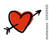 Heart Pierced By An Arrow Image ...